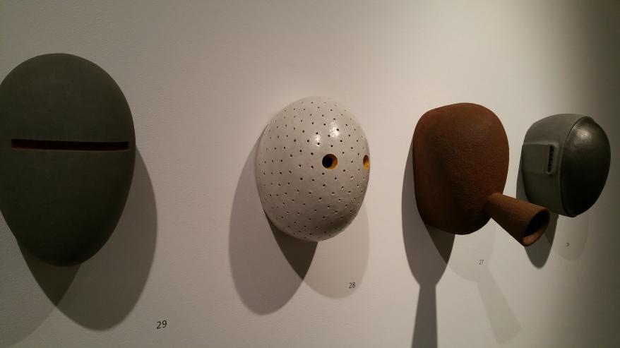 Image: Mask #1, #6, #5 & #8, Pat Lay
