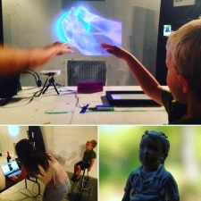 Fun for the whole family with Locus Labs' Leap Motion demonstration and free, downloadable 3D scans (NWII Photo/Eric Valosin)