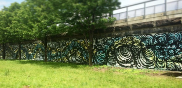 McCarter Highway Mural Project (Image courtesy of the artist)